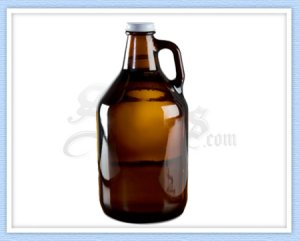 Amber Beer Growler